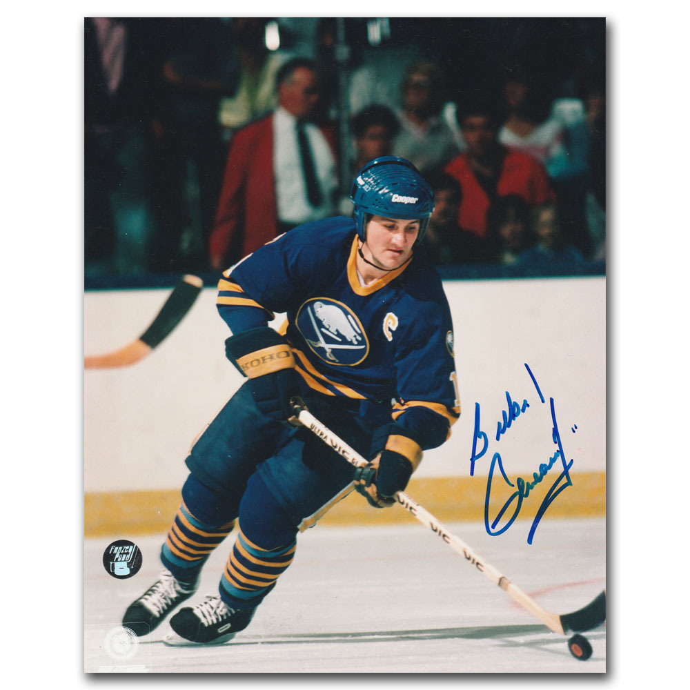 Gilbert Perreault Autographed Buffalo Sabres 8X10 Photo