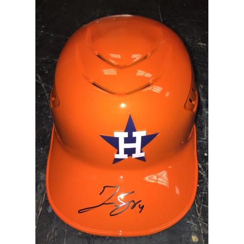 Photo of Autographed George Springer Helmet