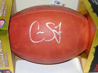 NFL - EAGLES CAYLEB JONES SIGNED AUTHENTIC FOOTBALL