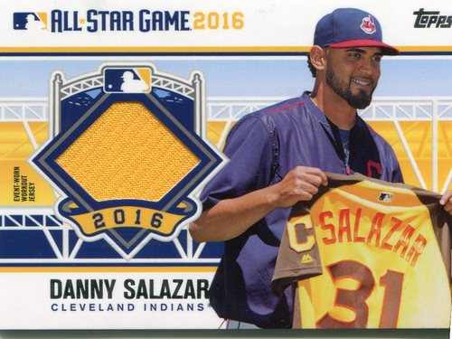 Photo of 2016 Topps Update All-Star Stitches #ASTITDS Danny Salazar