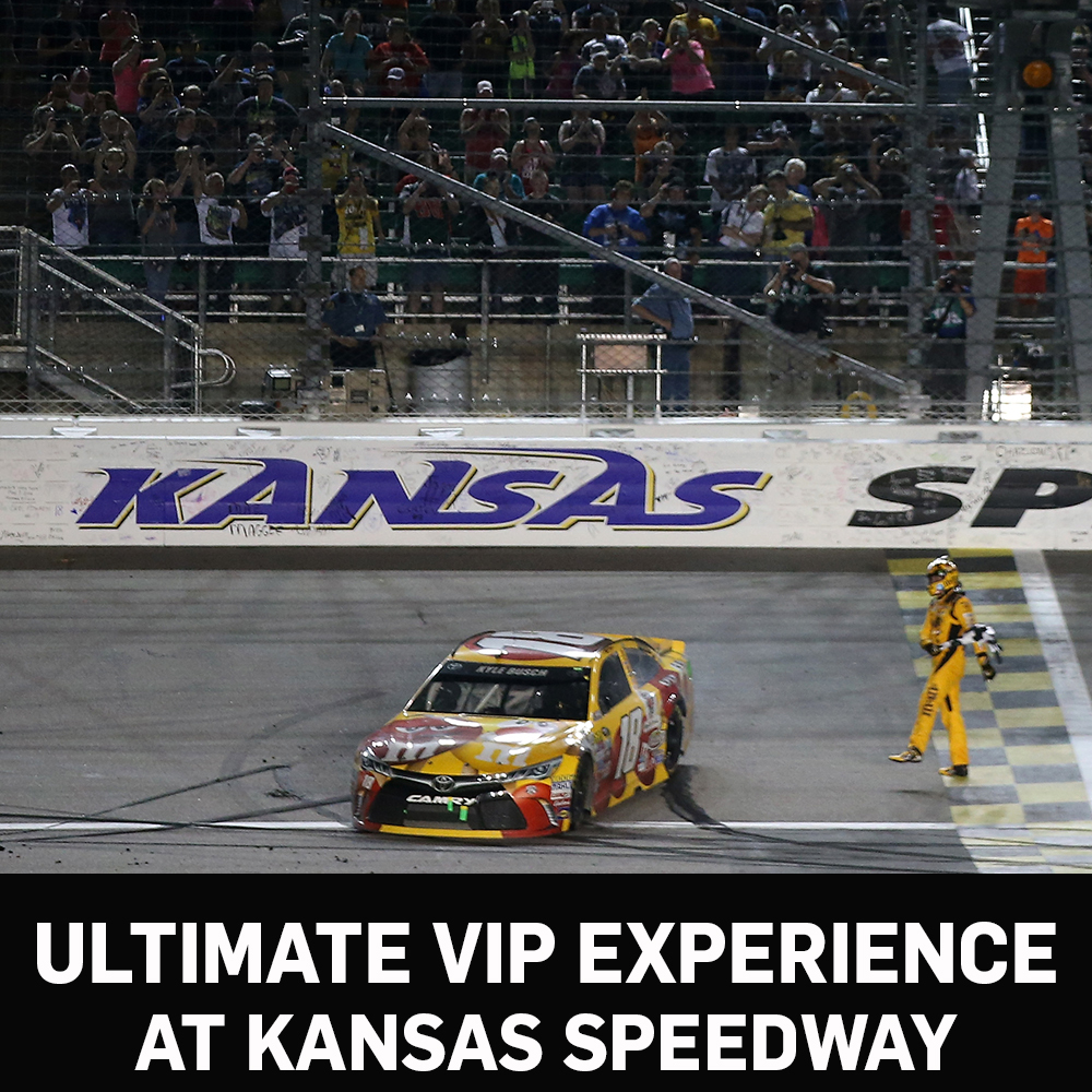 Ultimate VIP Experience at Kansas Speedway!
