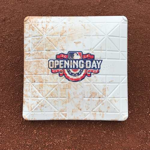 Photo of San Francisco Giants - Home Opening Day - 1st Base - Innings 1-2