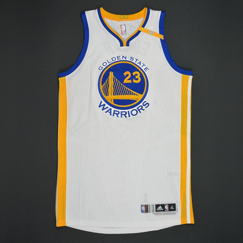 Draymond Green - Golden State Warriors - 2017 NBA Finals - Game 1 - Game-Worn White Jersey