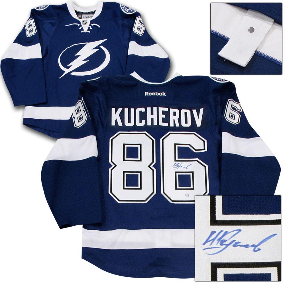 Nikita Kucherov Autographed Tampa Bay Lightning Authentic Pro Jersey