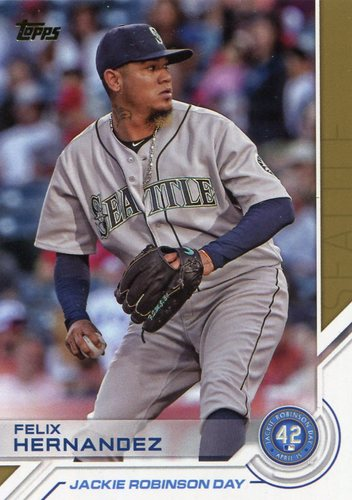 Photo of 2017 Topps Jackie Robinson Day #JRD12 Felix Hernandez