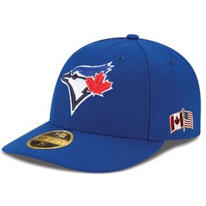 Toronto Blue Jays 2017 Authentic Collection 9/11 Canadian/US Flag Low Crown Alternate Game Cap by New Era