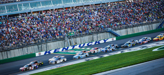 NASCAR QUAKER STATE 400 RACE AT KENTUCKY SPEEDWAY - PACKAGE 1 of 4