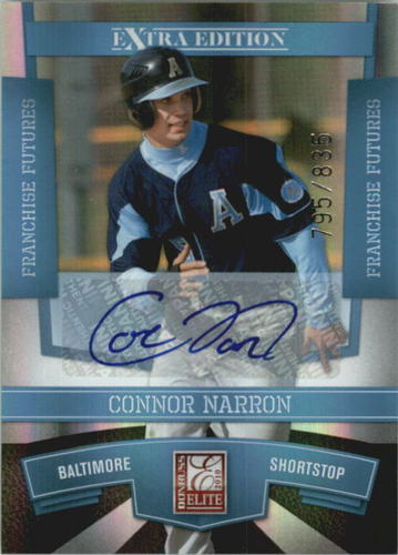 Photo of 2010 Donruss Elite Extra Edition Franchise Futures Signatures #47 Connor Narron/835