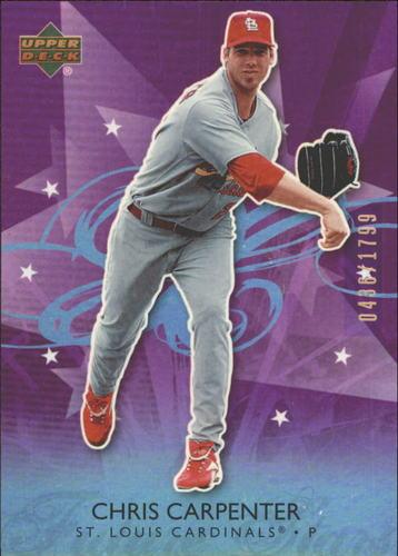 Photo of 2006 Upper Deck Future Stars Purple #65 Chris Carpenter
