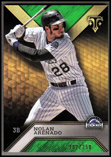 Photo of 2016 Topps Triple Threads Emerald #4 Nolan Arenado
