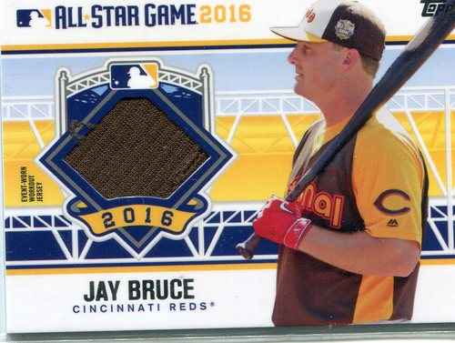 Photo of 2016 Topps Update All-Star Stitches #ASTITJBR Jay Bruce