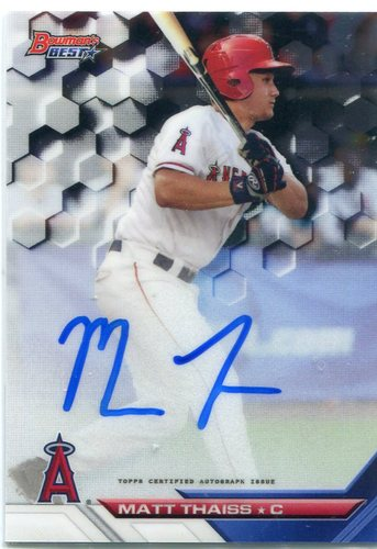 Photo of 2016 Bowman's Best Best of '16 Autographs #B16MTH Matt Thaiss
