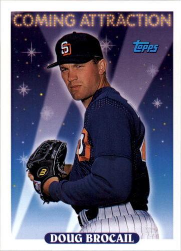 Photo of 1993 Topps #821 Doug Brocail