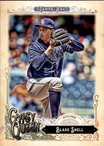 Photo of 2017 Topps Gypsy Queen #23 Blake Snell
