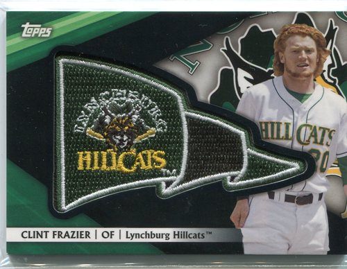 Photo of 2016 Topps Pro Debut Pennant Patches Black #PPCF Clint Frazier