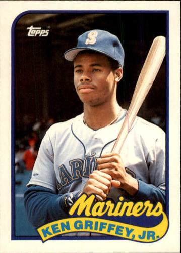 Photo of 1989 Topps Traded #41T Ken Griffey Jr. Rookie card
