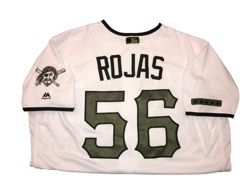 Photo of Euclides Rojas Game-Used Memorial Day Weekend Jersey