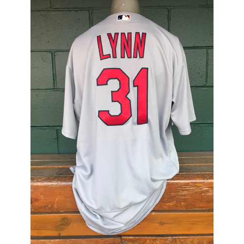 Photo of Cardinals Authentics: Lance Lynn Issued Road Grey Jersey