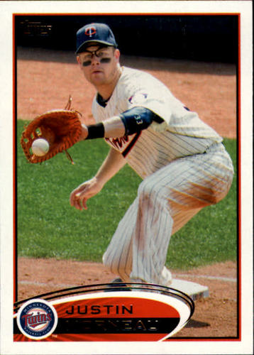Photo of 2012 Topps #230 Justin Morneau