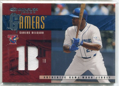 Photo of 2003 Donruss Gamers Position #47 Carlos Delgado