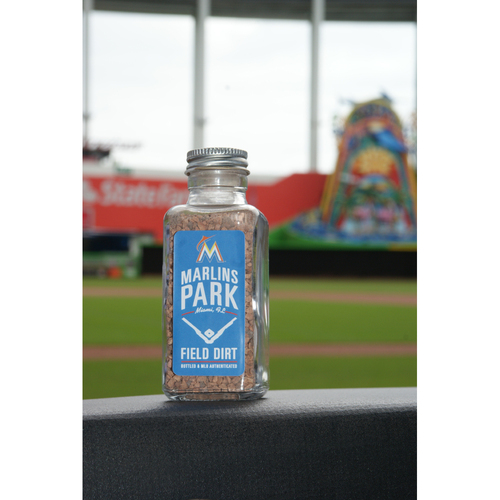 Marlins Park Dirt Bottle