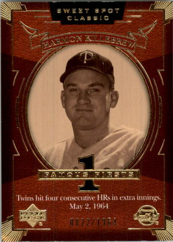 Photo of 2004 Sweet Spot Classic #110 Harmon Killebrew FF/1964