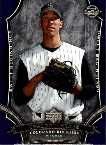 Photo of 2005 Sweet Spot #171 Ubaldo Jimenez SB RC
