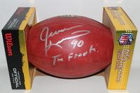 NFL - EAGLES JEVON KEARSE SIGNED AUTHENTIC FOOTBALL