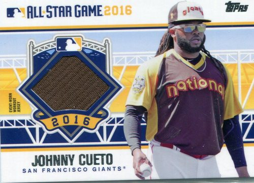 Photo of 2016 Topps Update All-Star Stitches #ASTITJC Johnny Cueto