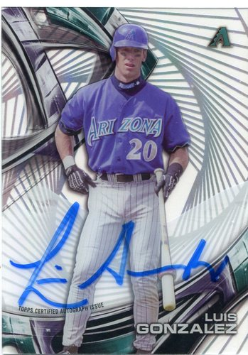 Photo of 2016 Topps High Tek Autographs Luis Gonzalez