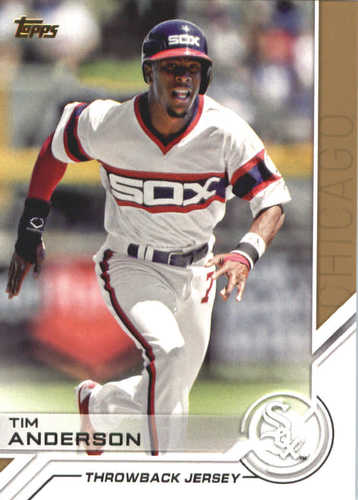 Photo of 2017 Topps Update Salute #USS13 Tim Anderson