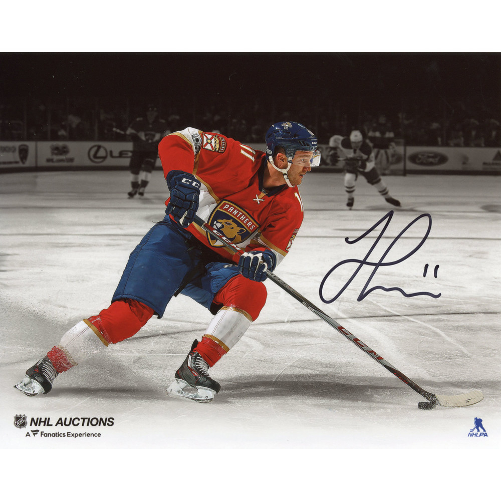 Jonathan Huberdeau Florida Panthers Autographed 8