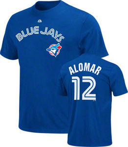 2011 Roberto Alomar T-Shirt with Hall of Fame Logo by Majestic