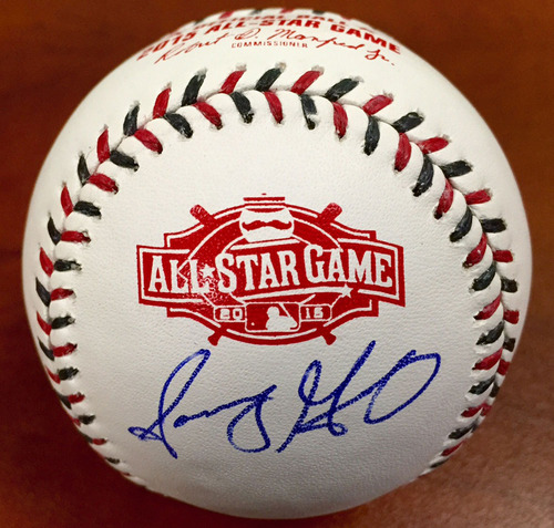 Photo of Sonny Gray 2015 All-Star Game Autographed Baseball