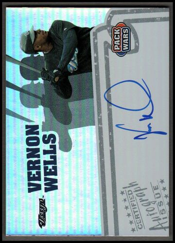 Photo of 2005 Topps Pack Wars Autographs #VW Vernon Wells C