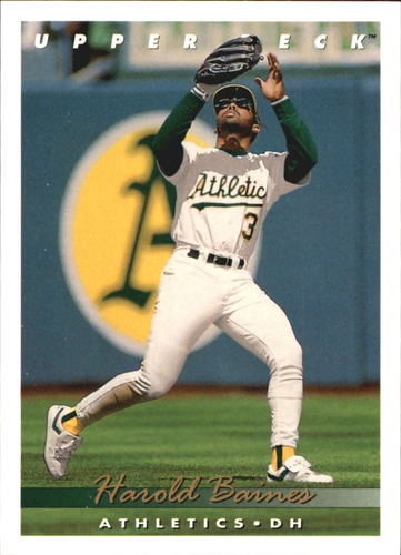 Photo of 1993 Upper Deck Gold Hologram #81 Harold Baines