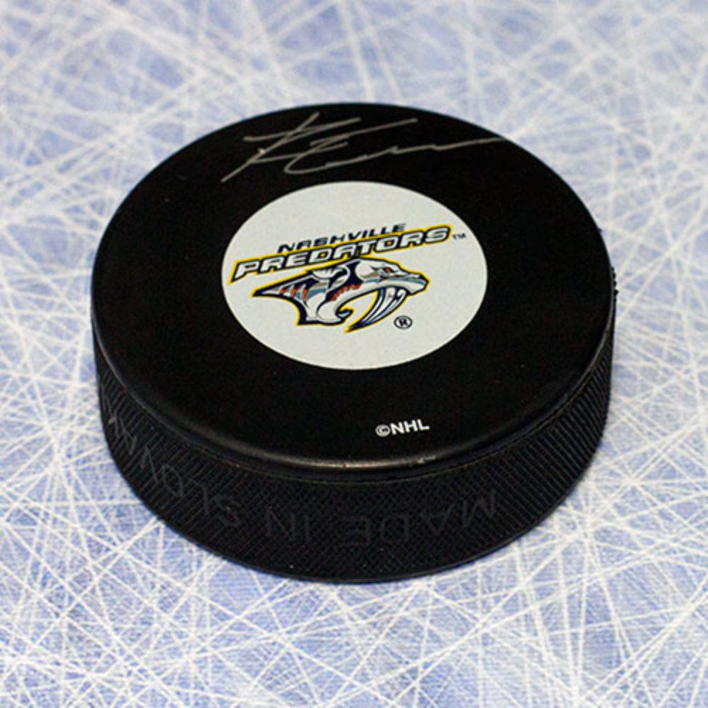 Ryan Ellis Nashville Predators Autographed Hockey Puck