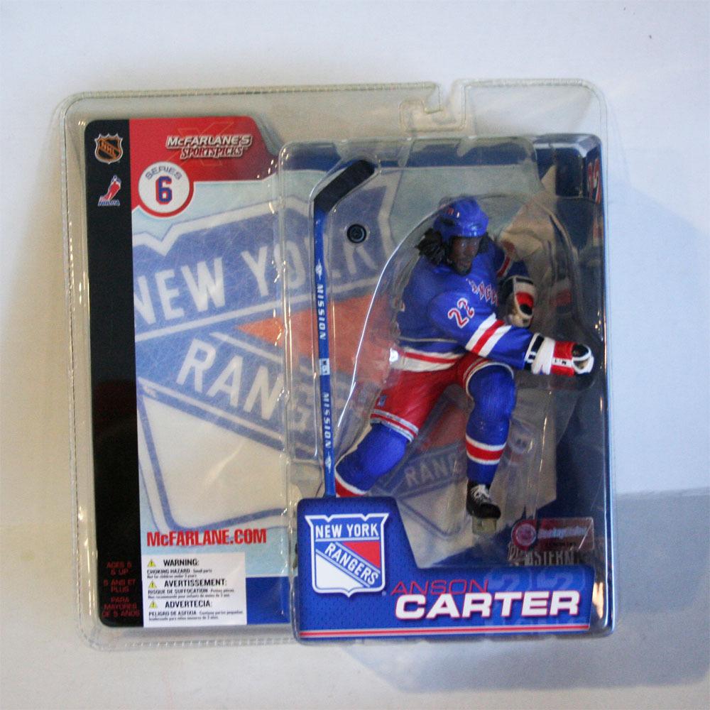 Anson Carter New York Rangers Rare Chase McFarlane Figurine