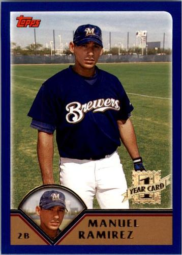 Photo of 2003 Topps #295 Manuel Ramirez FY RC