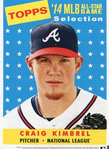 Photo of 2014 Topps 5x7 All-Star Selection Craig Kimbrel -- Part of exclusive Minneapolis FanFest set