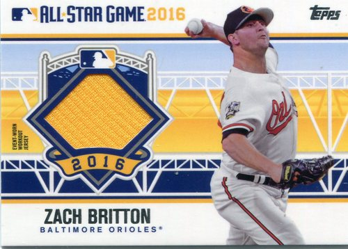 Photo of 2016 Topps Update All-Star Stitches #ASTITZB Zach Britton