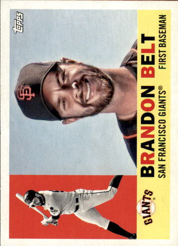 Photo of 2017 Topps Archives #15 Brandon Belt