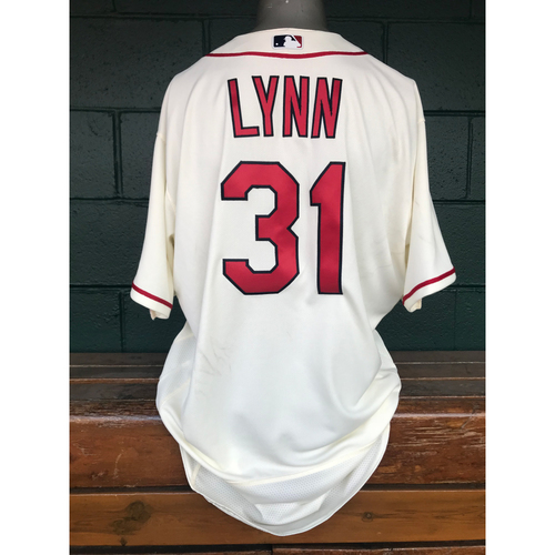 Photo of Cardinals Authentics: Lance Lynn Issued Saturday Alternate Jersey