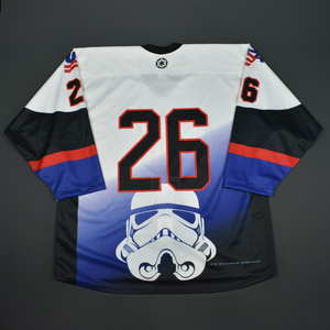 #26 No Name On Back - 2016 U.S. National Under-18 Development Team - Star Wars Night Game-Ready Jersey