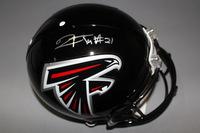 NFL - FALCONS DESMOND TRUFANT SIGNED FALCONS PROLINE HELMET
