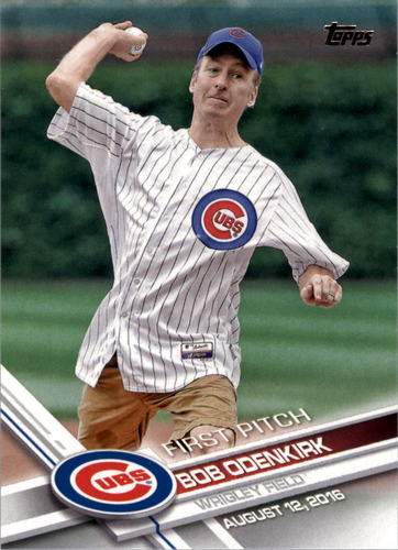 Photo of 2017 Topps First Pitch #FP2 Bob Odenkirk