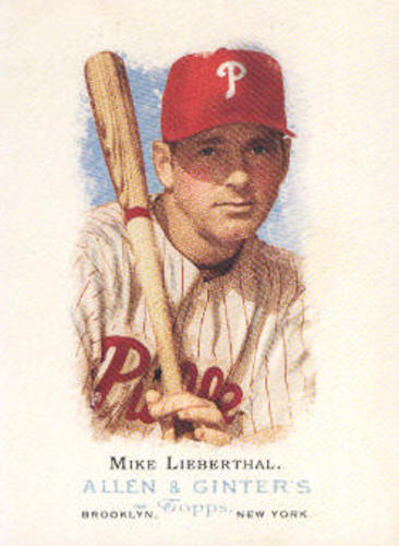Photo of 2006 Topps Allen and Ginter #130 Mike Lieberthal