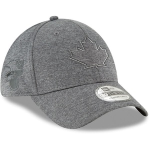 Toronto Blue Jays Shadow Tech Dark Grey Stretch Fit Cap by New Era