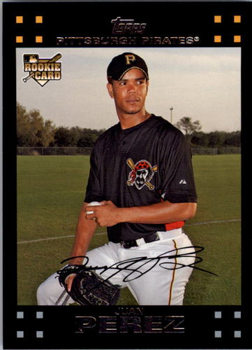 Photo of 2007 Topps #633 Juan Perez RC