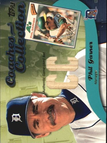 Photo of 2002 Topps Coaches Collection Relics #CCPG Phil Garner Bat